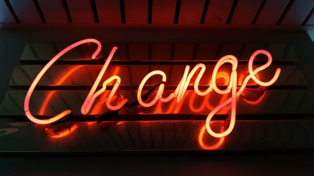 the process of change management